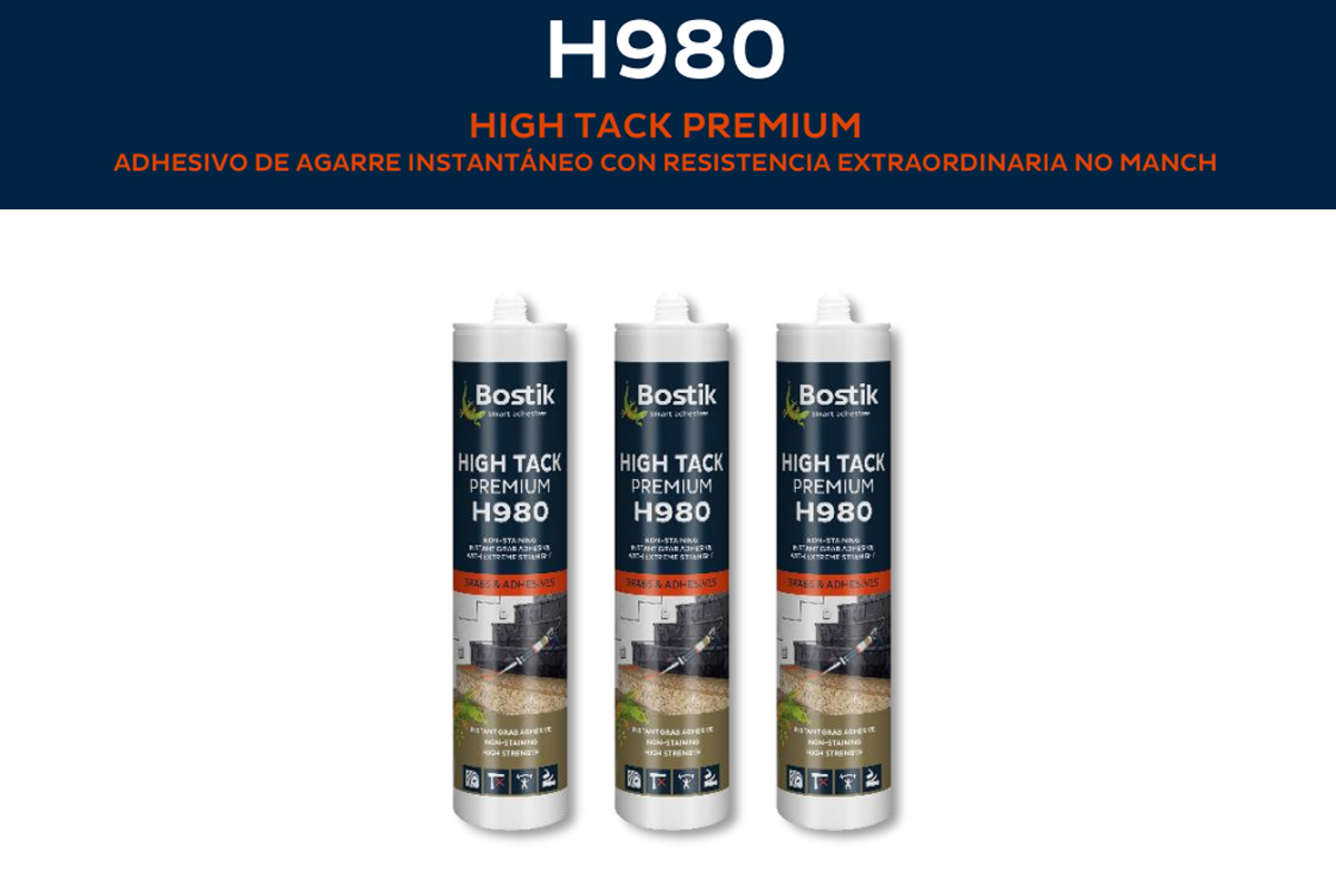 Adhesivo de agarre instantáneo H980 HIGH  TACK PREMIUM