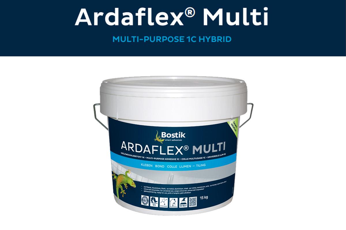 Adhesivo para HPL a muro  (Laminado de alta presión)Ardaflex®️ MultiMULTI-PURPOSE 1C HYBRID