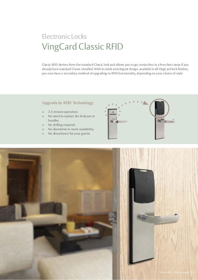 Cerradura electrónica Vingcard Classic 3G RFID  RH