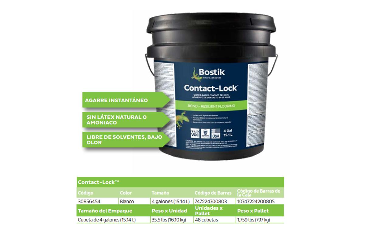 Adhesivos de vinilicos muro Revestimiento Vinílico Aquarelle Wall: LVT-Lock+ y el Contact-Lock