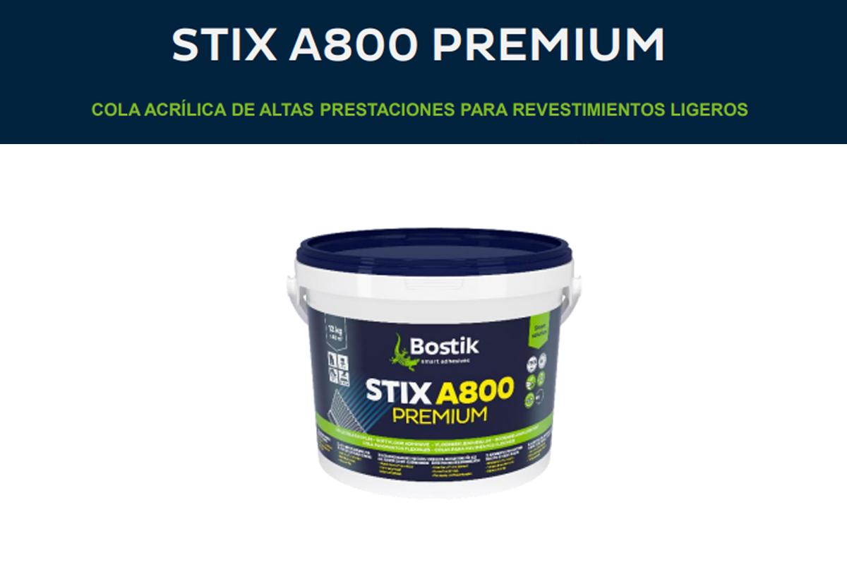 Adhesivo Piso vinilico : Stix A 800 Premium